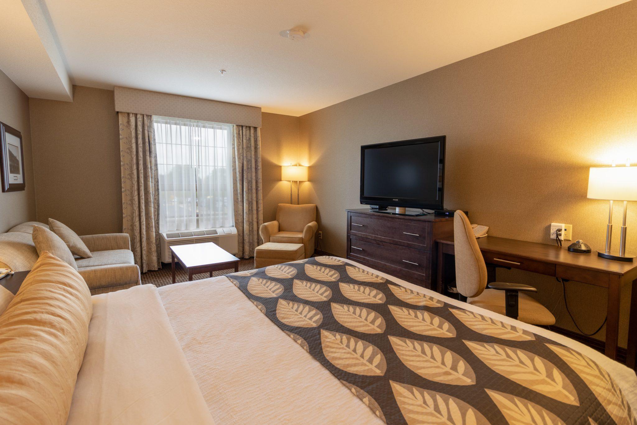 hotel in fort saskatchewna Kanata Inns Deluxe Business King Fort Saskatchewan