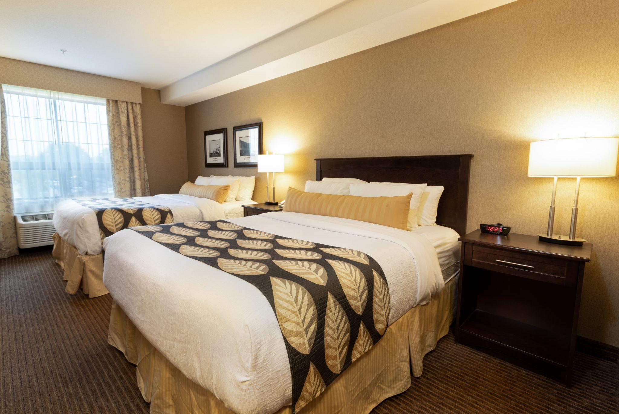 hotel in fort saskatchewan Kanata Inns Double Queen Suite Fort Saskatchewan