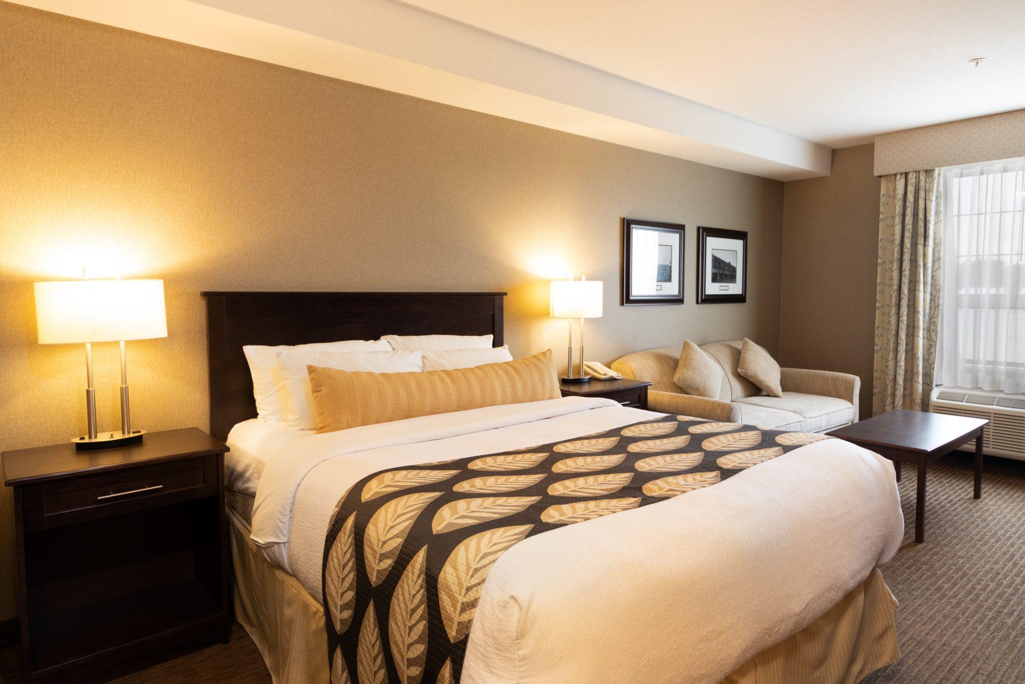 hotel in fort saskatchewan Kanata Inns Double Queen Suite