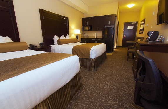 kanata hotels in whitecourt double queen