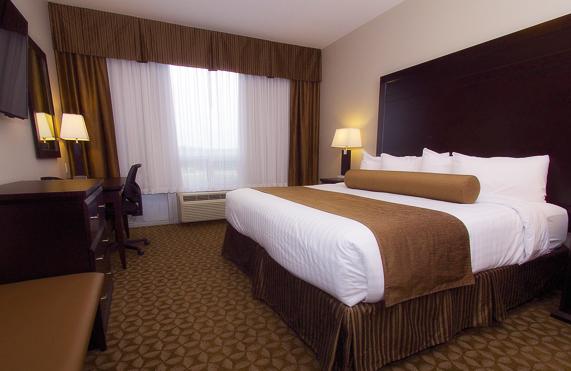 kanata hotels in whitecourt king suite