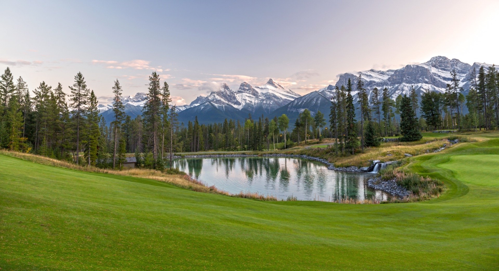 Rocky mountains golf course