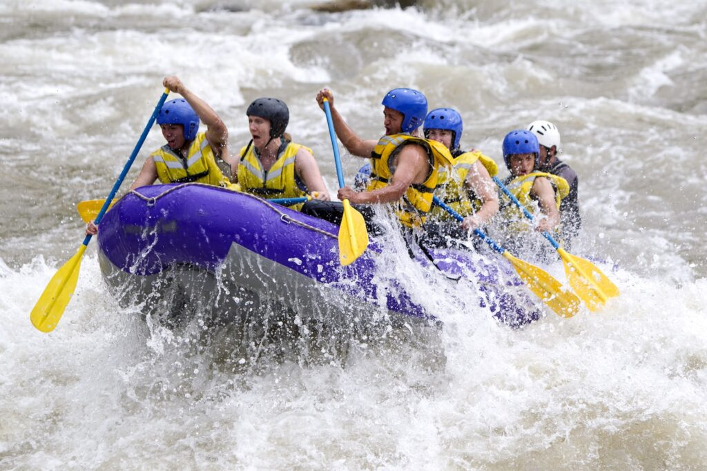 Whitewater rafting in Invermere